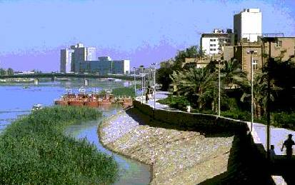 The city of Baghdad